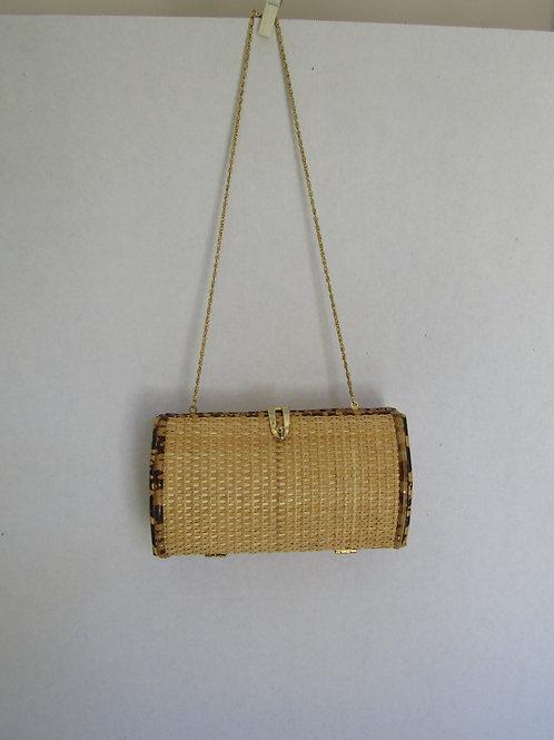 Retro Wicker Handbag or Purse