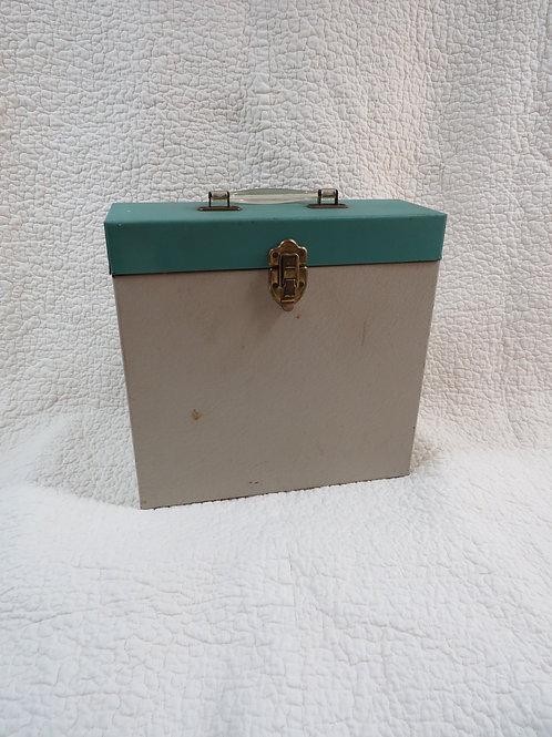 Metal Box Files Albums Top handle Vintage