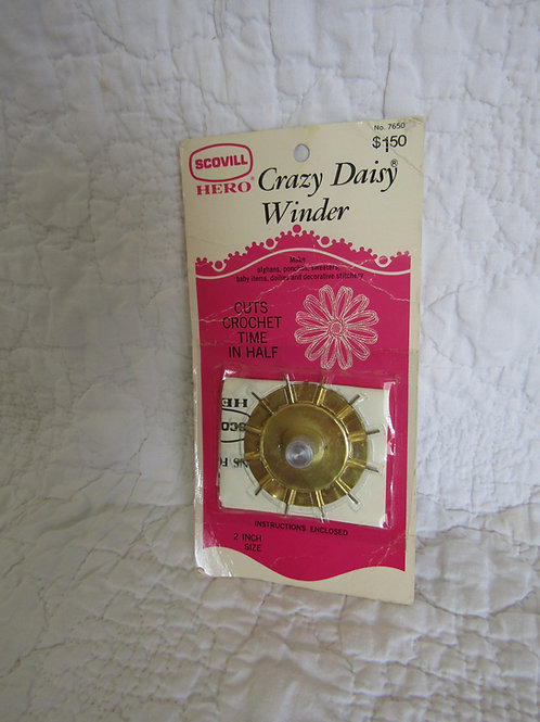 Vintage Crazy Daisy Winder New in Original Package