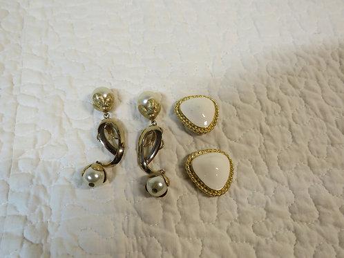 2 sets Shoe / Dress Clips Vintage Items