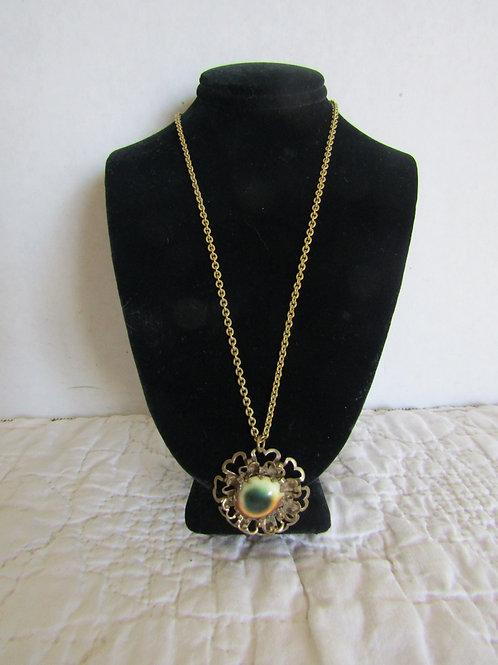 Necklace with retro Pendant Vintage Item