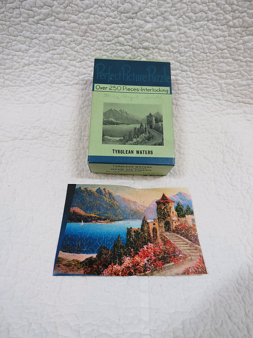 Tyrolean Waters Puzzle Vintage