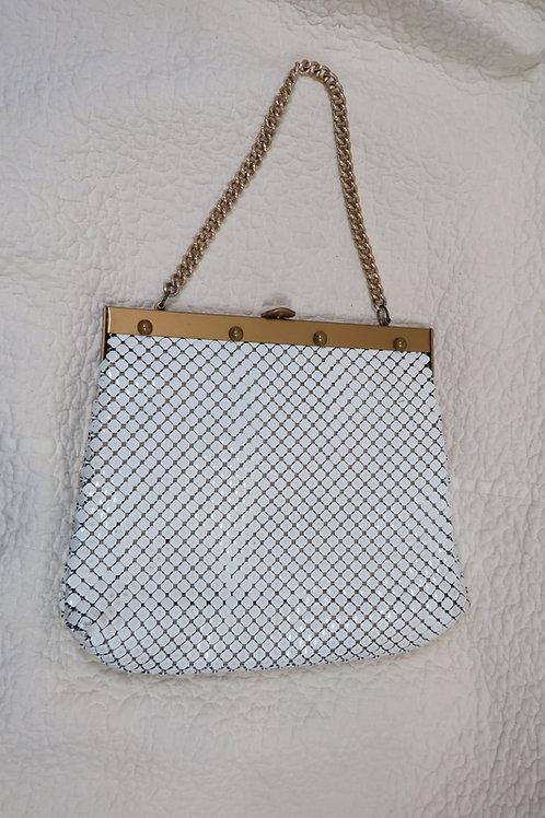 Whiting Davis metal mesh Handbag vintage