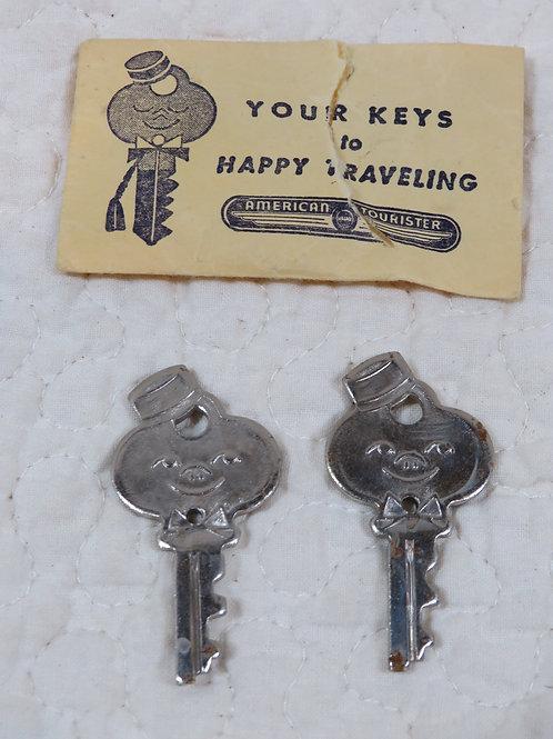 2 Keys American Tourister Vintage