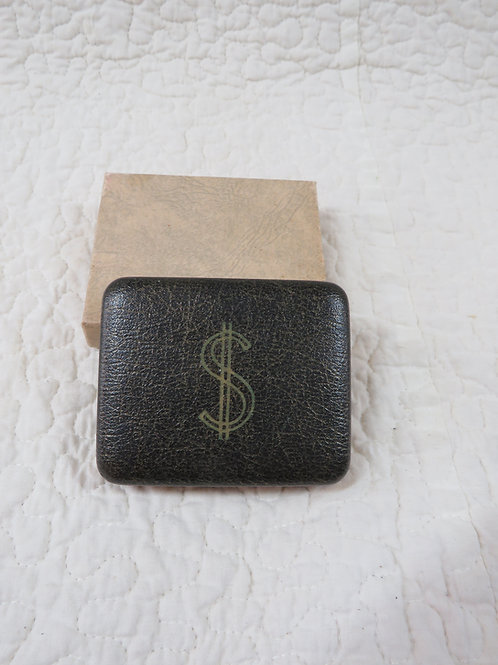 Hard Case Money Tote NOS Vintage