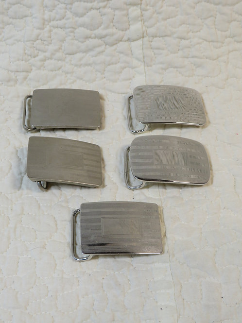 5 Metal Belt Buckles nos from Jewelry factory