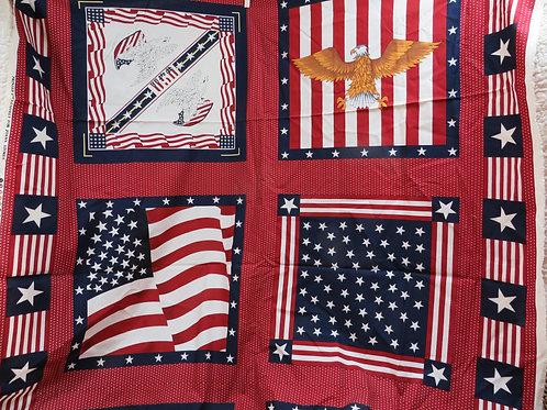 Patriotic Fabric Panels
