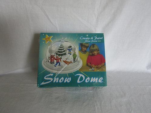 Snow Dome Create Paint nos Vintage