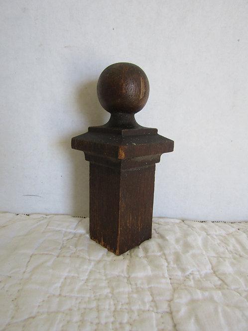 Wood Finial Vintage Salvage
