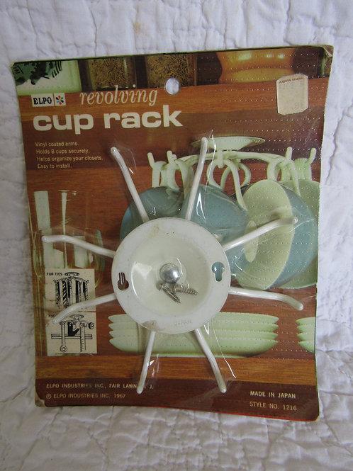 Vintage Metal Revolving Cup Rack by Elpo new in Package