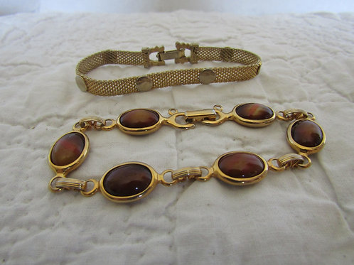 2 Vintage Bracelets Lot 1 Sarah Coventry