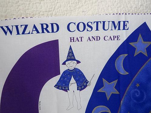 Wizard Costume sewing Panel Cranston Print