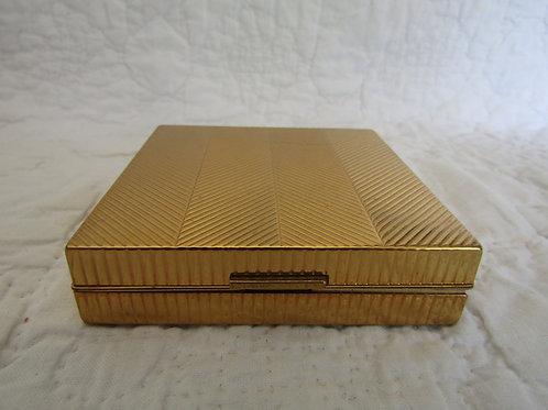 Vintage Evans Cigarette Case Metal