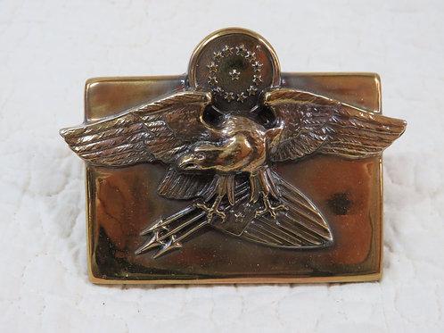 Eagle Brass Clip Heavy nos Vintage Item