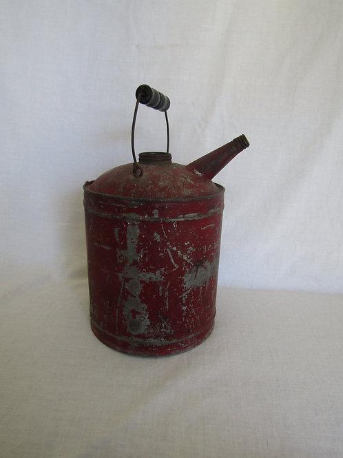 Red Oil Can Vintage Item