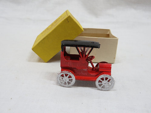 Miniature Convertible car Old Timer Moving Parts vintage NOS