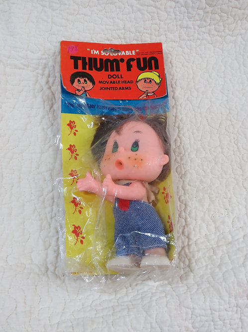 Doll Thum Fun Movable Joints nos vintage