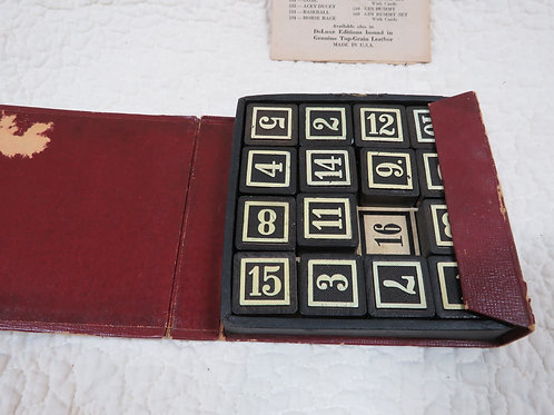 Magic Numbers Game with Instructions Vintage