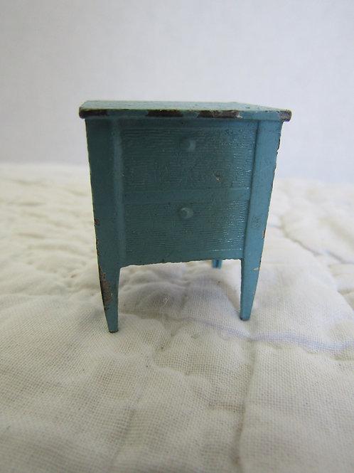Vintage / Antique Miniature End / Side Table Metal Tootsie Toy