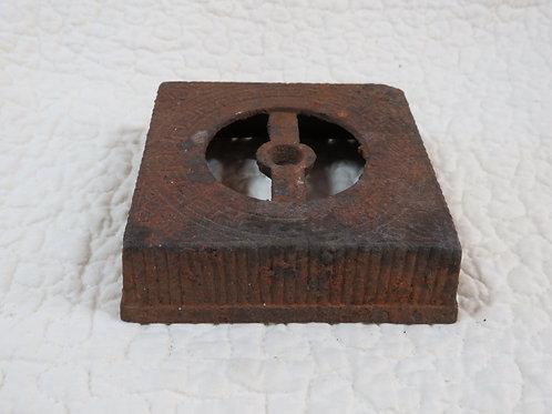 Cast Iron Salvaged Base Vintage