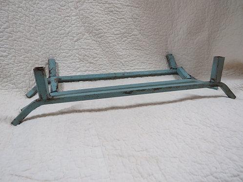 3 Metal Legs Blue Vintage Items