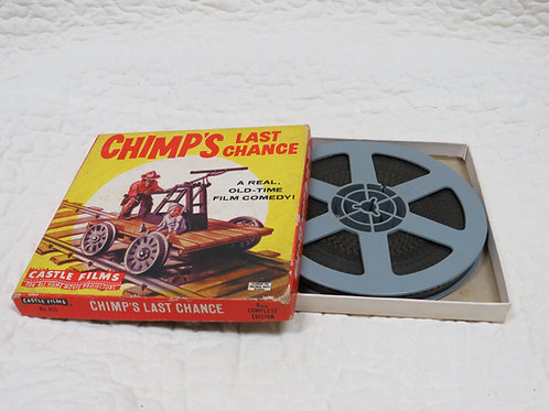 8 mm movie Castle Films Chimp's Last Chance Super 8