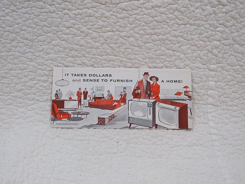 Insurance Brochure Inventory Vintage Paper