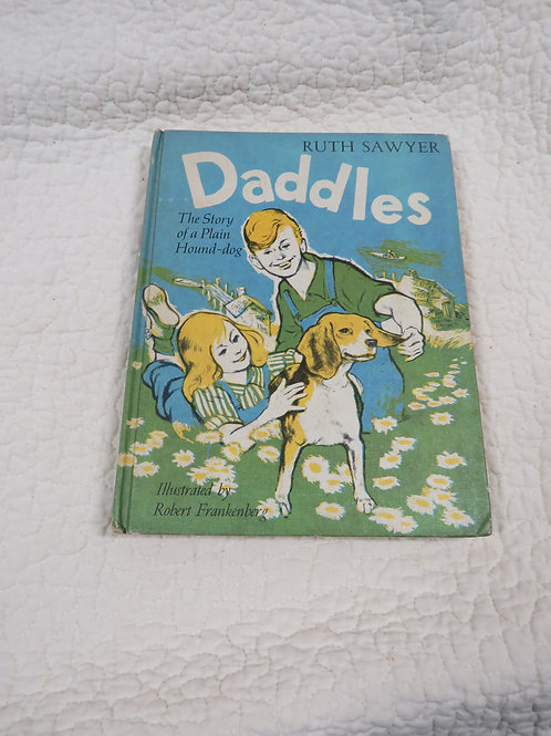 Childrens Book Daddles Ruth Sayer Vintage