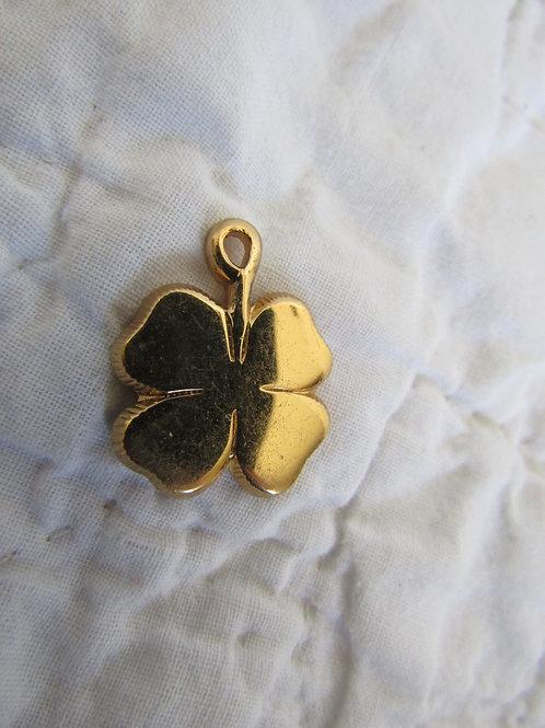 4 Leaf Clover Charm Vintage Item