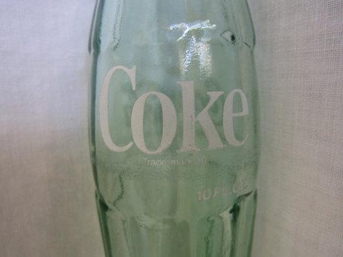 Coke Bottle Green Glass 10 oz. Macon GA