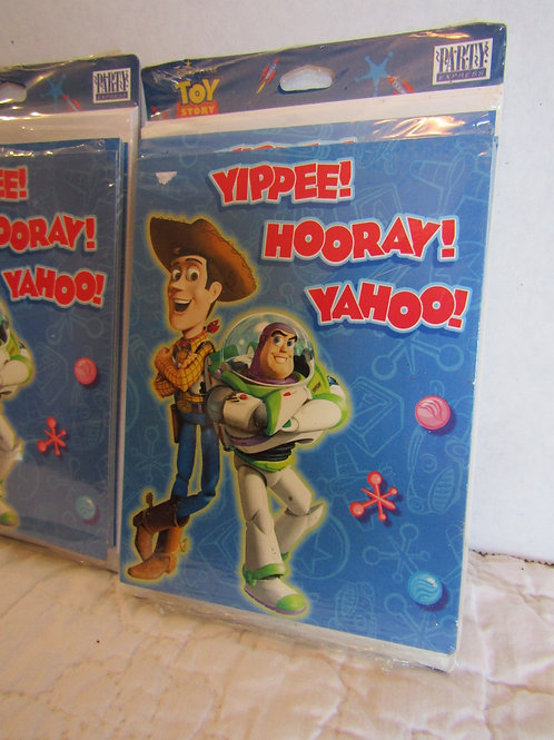 Toy Story 2 Vintage Party Invitations 1 package of 8