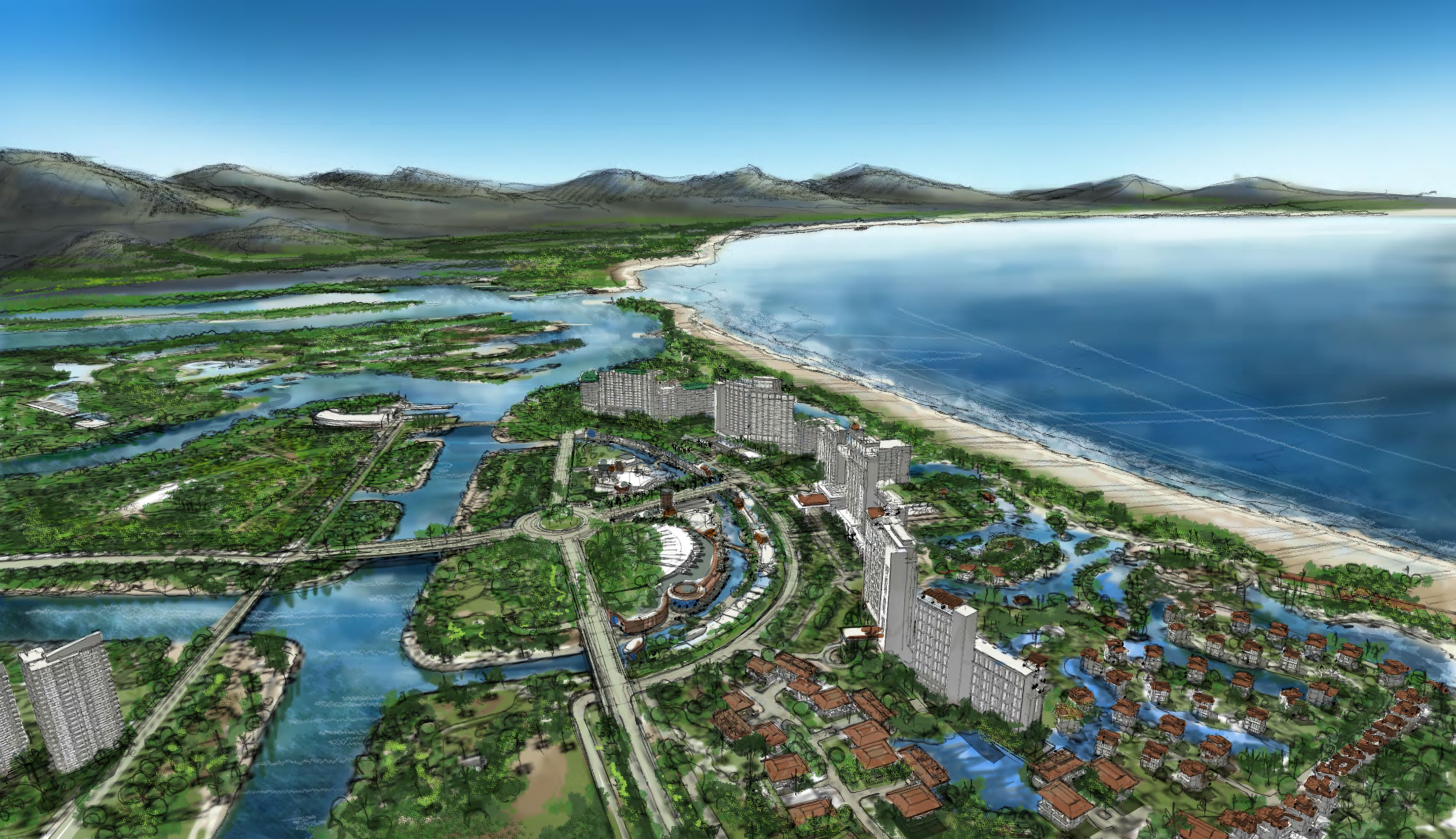 Coconut Island Masterplan