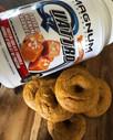 Salted Caramel Pumpkin Donuts