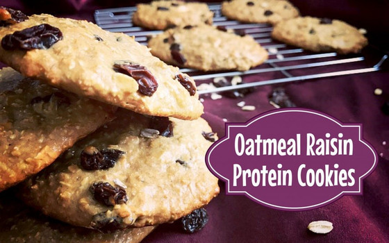 Recipe of the Week - Oatmeal Rasin Protein Cookies