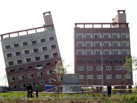 Asentamientos: Un riesgo para las estructuras.