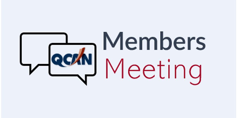 Brisbane North - QCAN Member Meeting