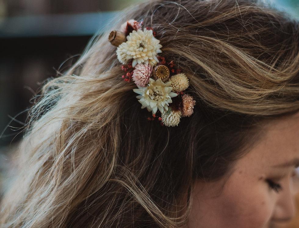 Wild Flower Hair Comb