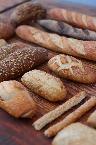 Pan rústico reposado