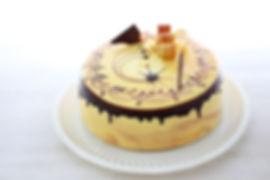 Nescafé: Pastel de vainilla tres leches relleno de crema de café, almendra y flan