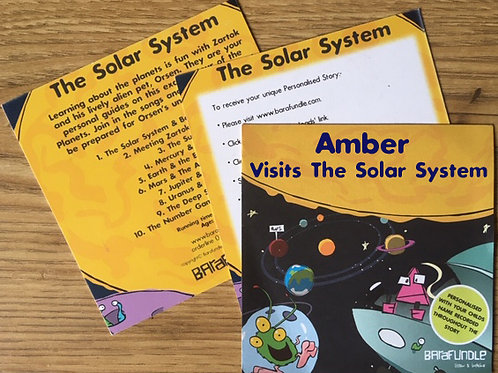 Amber Visits The Solar System - Voucher
