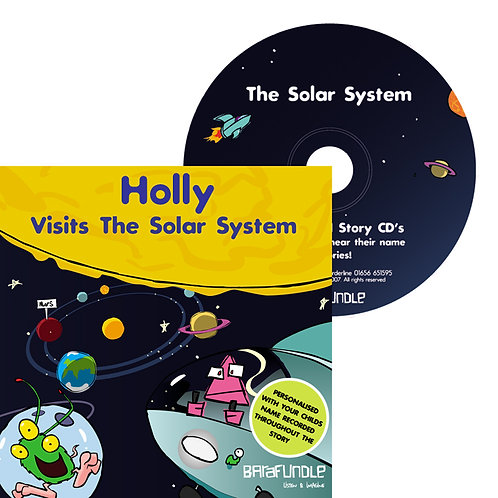 Holly Visits The Solar System - CD