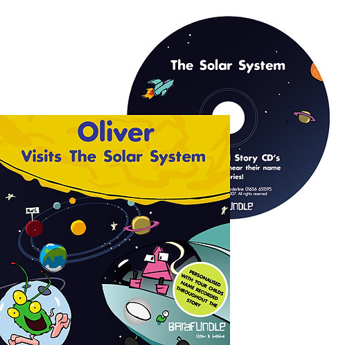 Oliver Visits The Solar System - CD