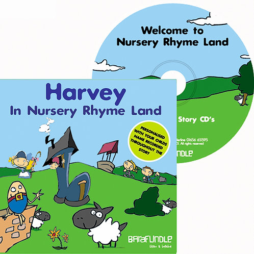 Harvey In Nursery Rhyme Land - CD