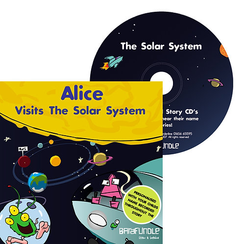 Alice Visits The Solar System - CD