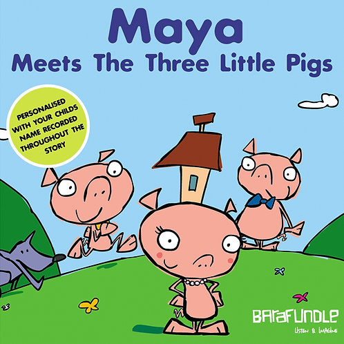 Maya Meets The Three Little Pigs - Download