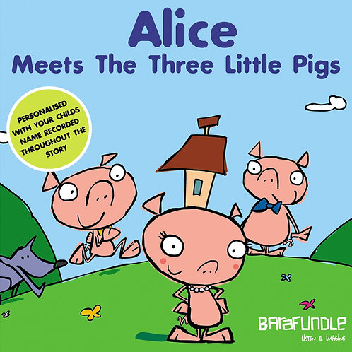 Alice Meets The Three Little Pigs - Download