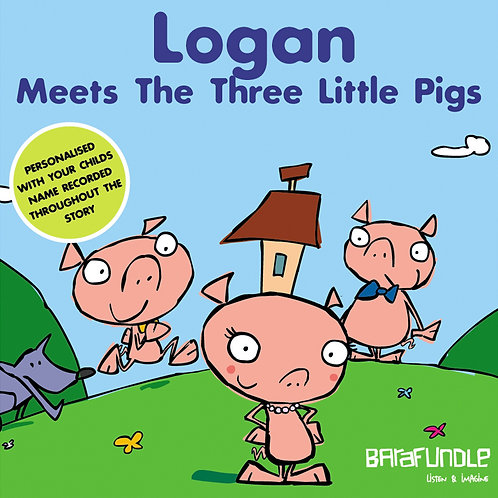 Logan Meets The Three Little Pigs - Download