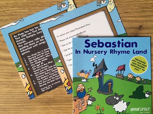 Sebastian In Nursery Rhyme Land - Voucher