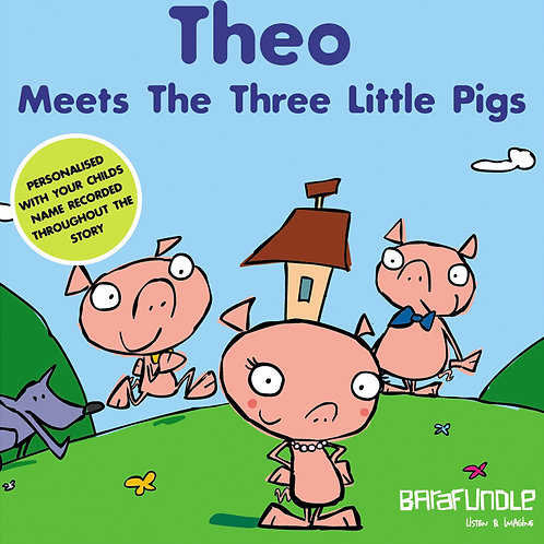 Theo Meets The Three Little Pigs - Download
