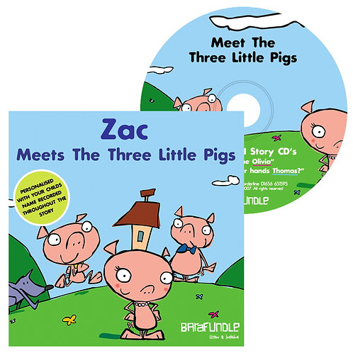 Zac Meets The Three Little Pigs - CD